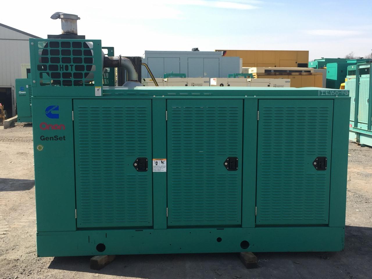 Natural Gas Generator : Kw cummins natural gas generator enclosed lead