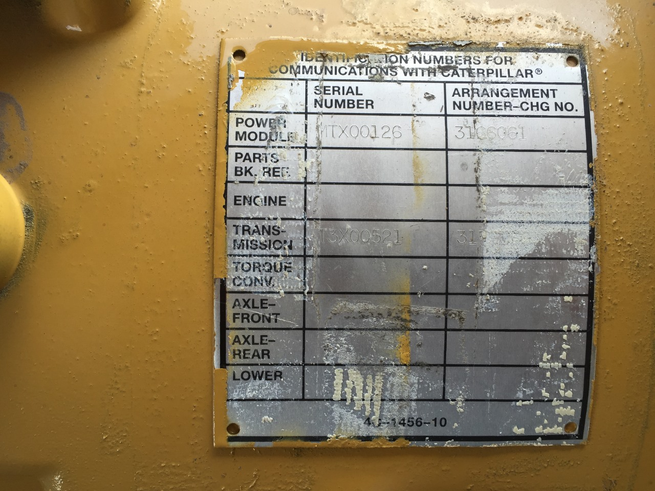 2008 New Caterpillar Transmission, Built for C-9 Cat Engine, Never Used,  Arr #-317-9068, Dimensions-40
