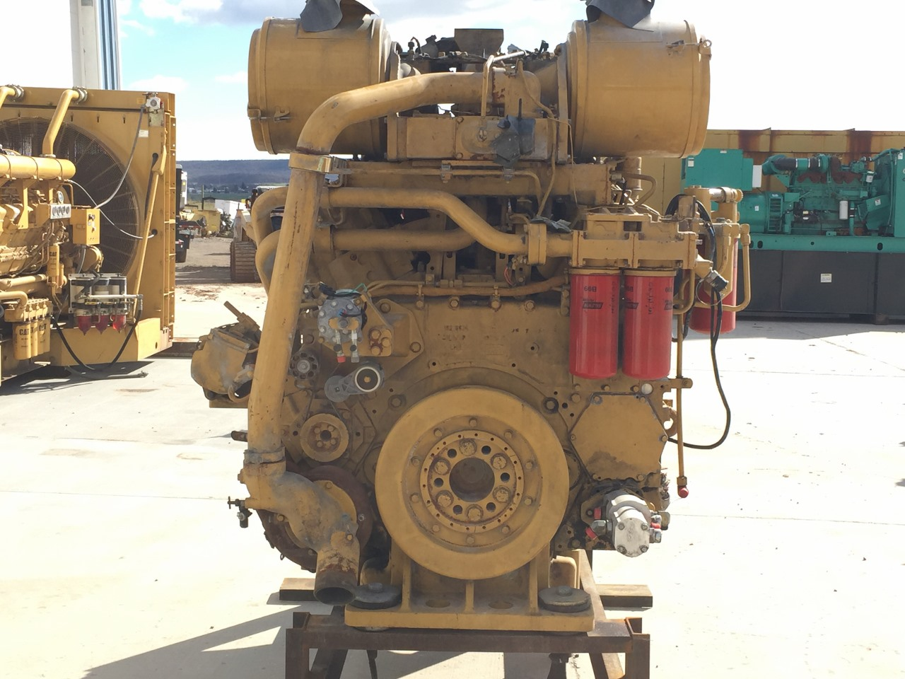 3508B Caterpillar Engine, Takeout of 992G Wheel Loader