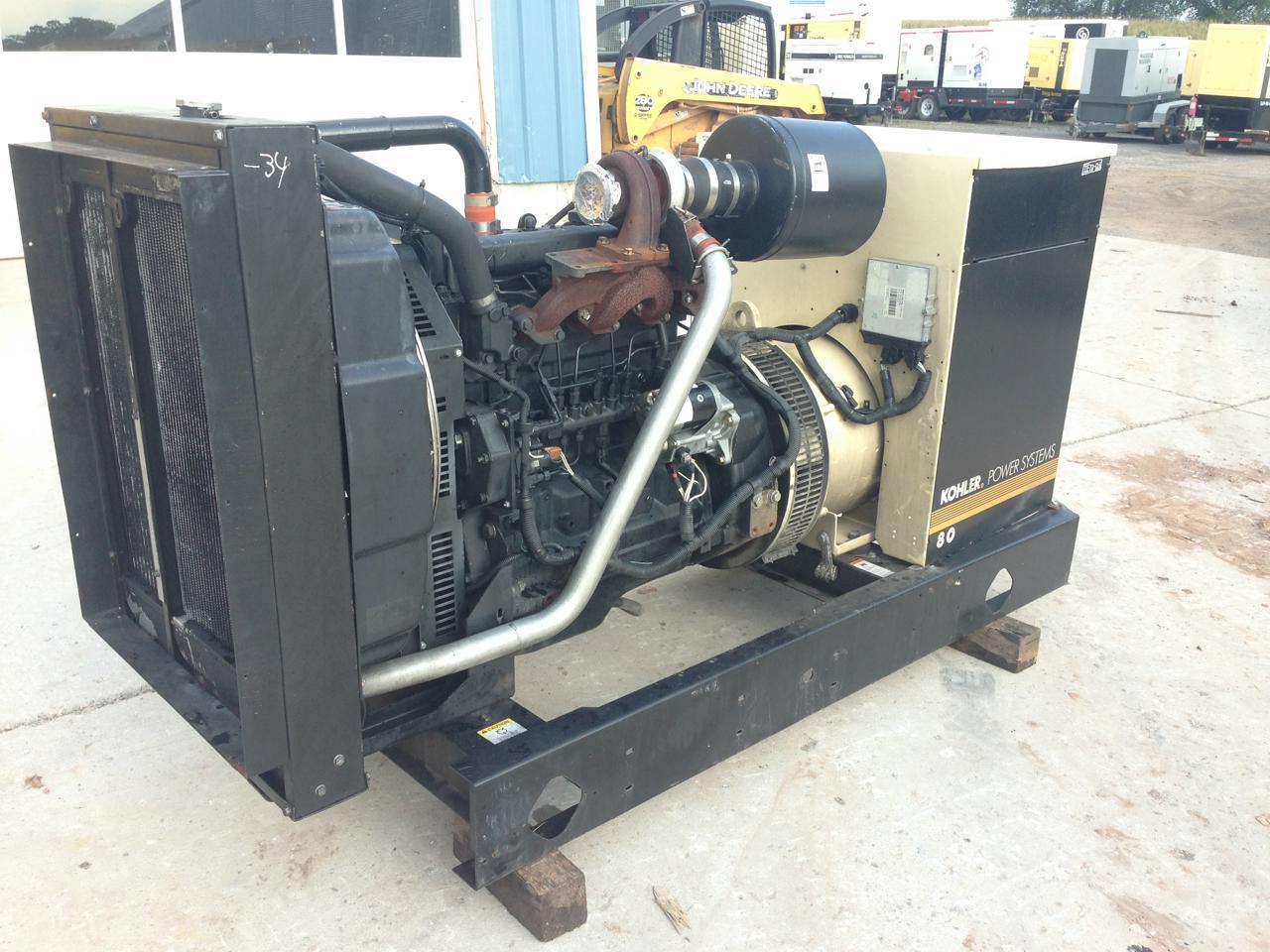 John Deere 60 Generator : Kw kohler generator set lead reconnectable john
