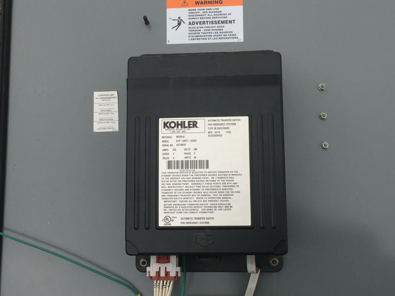 Transfer Switch Wiring Diagram On 3 Phase Transfer Switch Wiring