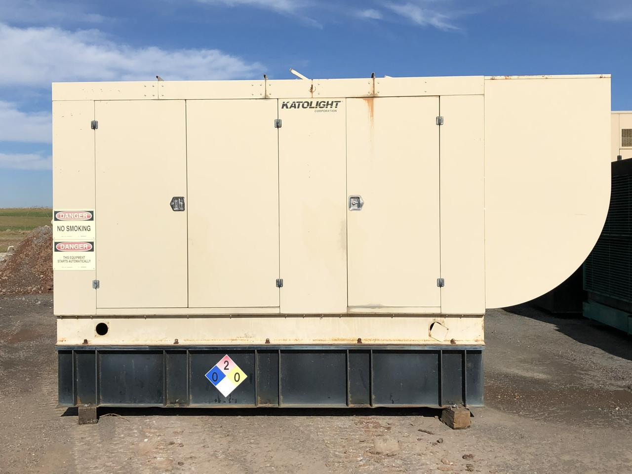 125 Kw Cummins Onan Generator Set 12 Lead Reconnectable 1 3 Phase Katolight Wiring Diagram 300 500 Gallon Base Fuel Tank Sound Attenuated