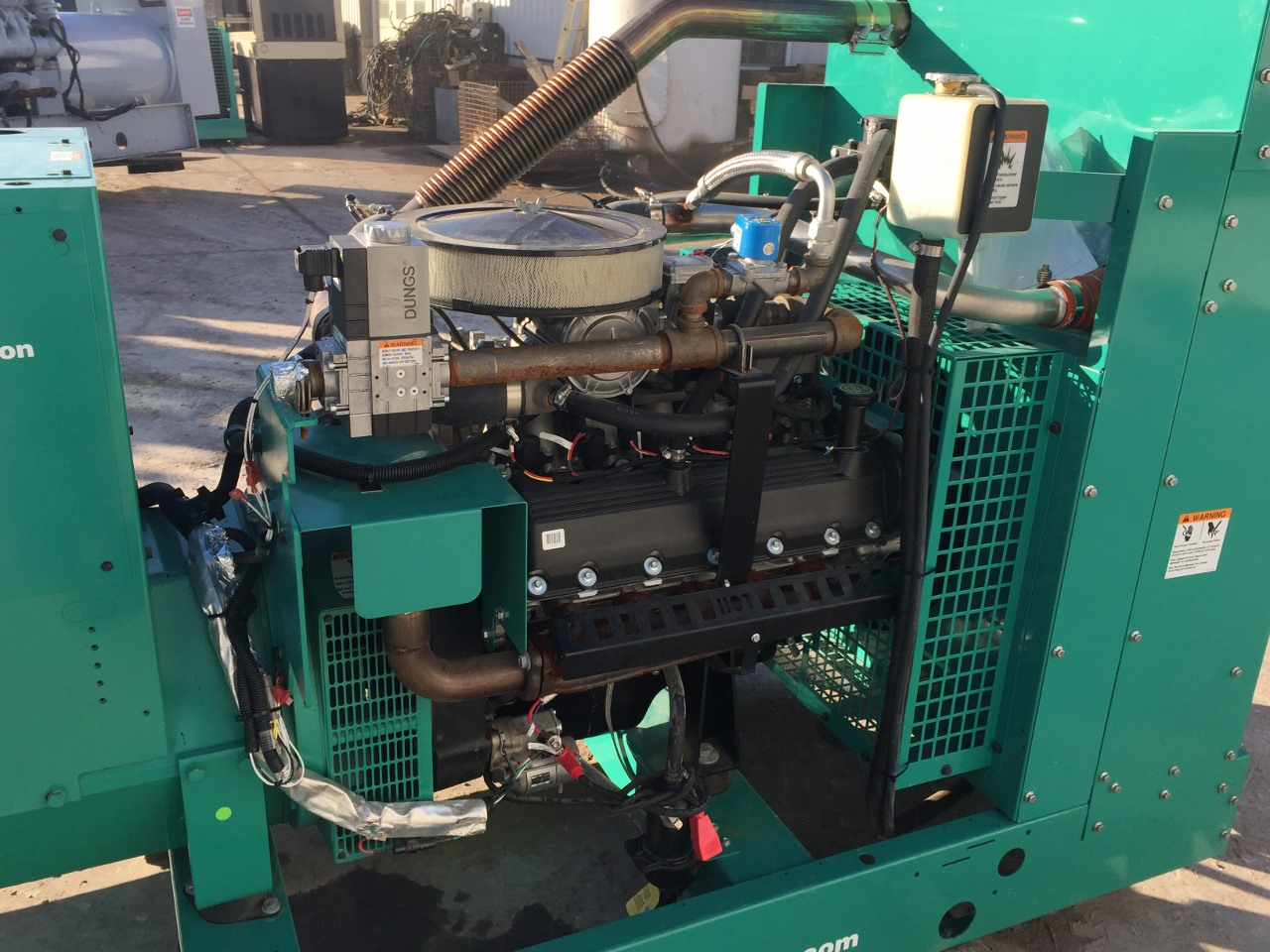 kw cumminsonan generator   warranty  man    ford engine