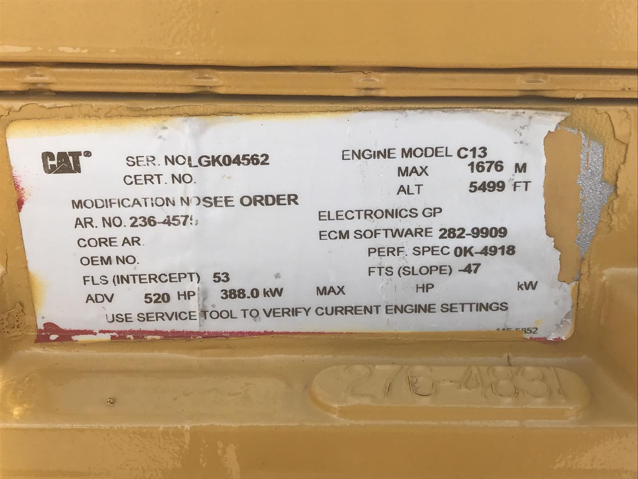 2006 C13 CAT Industrial Engine, Good Running Takeout, Tested