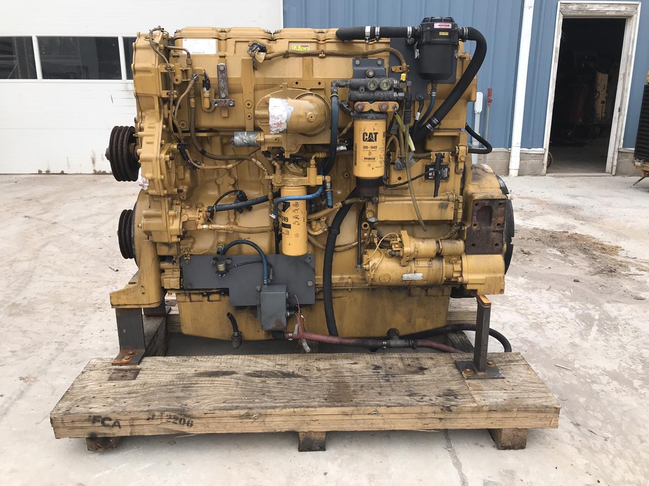C18 CAT Industrial Engine, 575 HP, SAE 1, 14