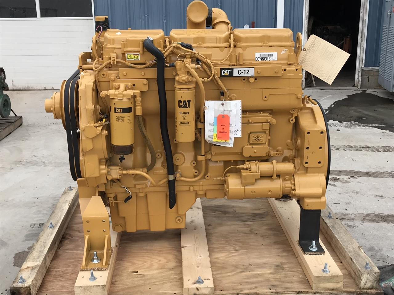 C12 CAT Engine, Unused Engine, 515 HP, 2008, SAE 1, 14