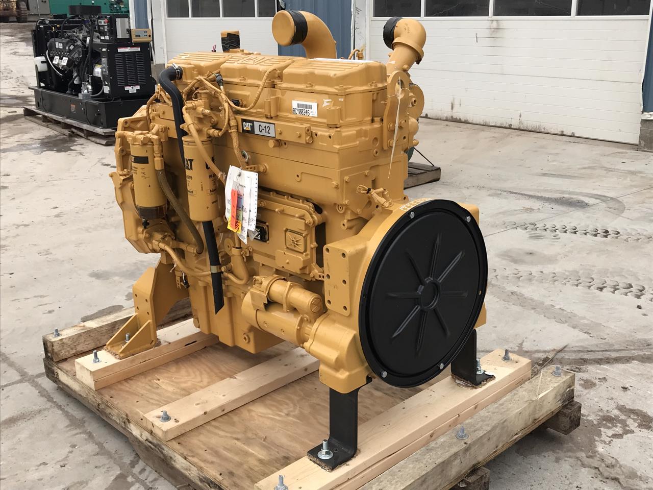 C12 CAT Engine, Unused Engine, 515 HP, 2008, SAE 1, 14